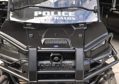 Polaris Vehicle front view
