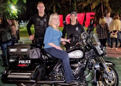 Debbie motorcycle